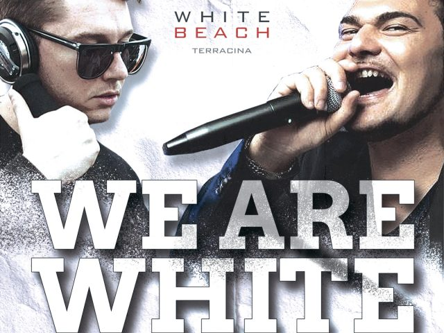 "SAB 1st LUGLIO ""WE ARE WHITE"""