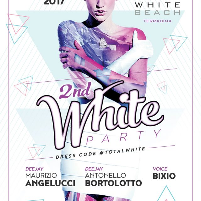"SAB 15 LUGLIO ""2nd WHITE PARTY"""
