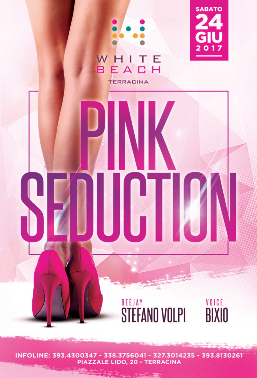 "SAB 24.06 ""PINK SEDUCTION"""